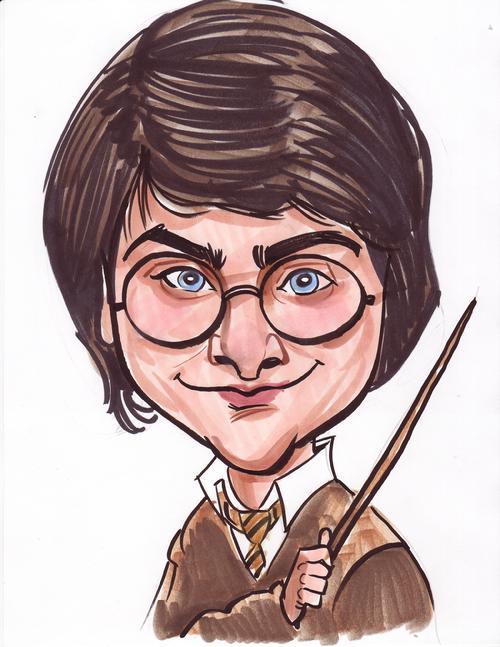 10 Incríveis caricaturas de Harry Potter - Listas