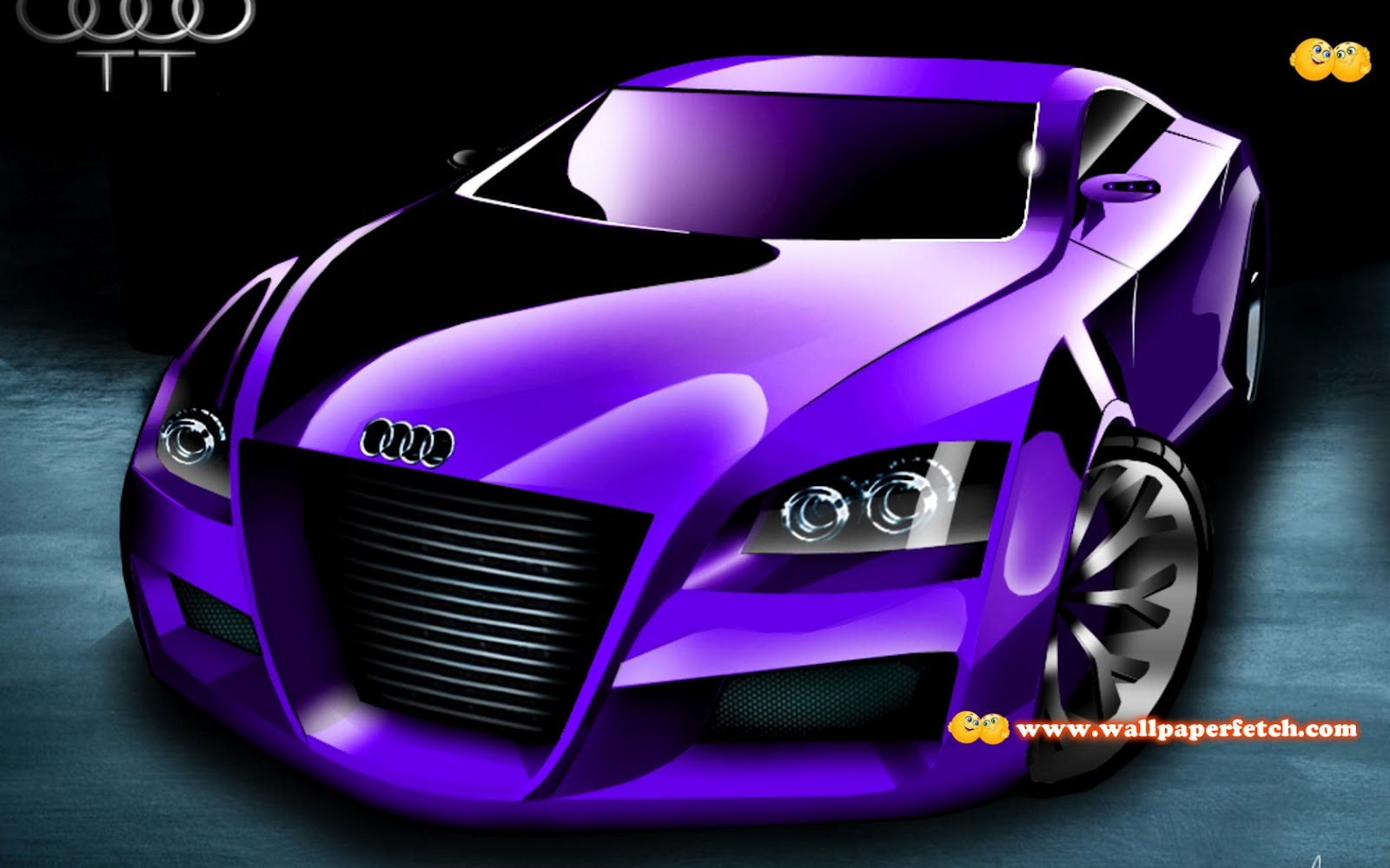 Wallpapermoon Wallpaper Hd Voiture Tuning - Audi car 3d image