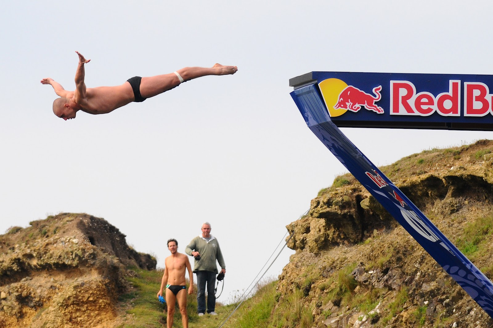 Red bull cliff diving wales ginger snaps - Red bull high dive ...