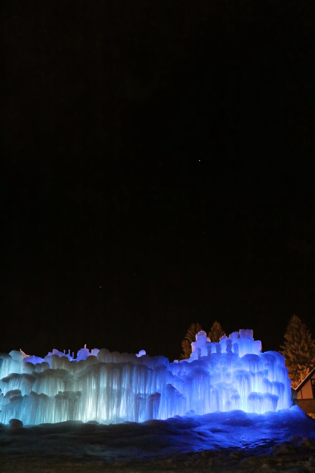 Midway Ice Castle, Utah - The Redd Party