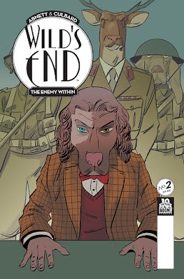 Cover of Wild's End: The Enemy Within #2, courtesy of BOOM! Studios