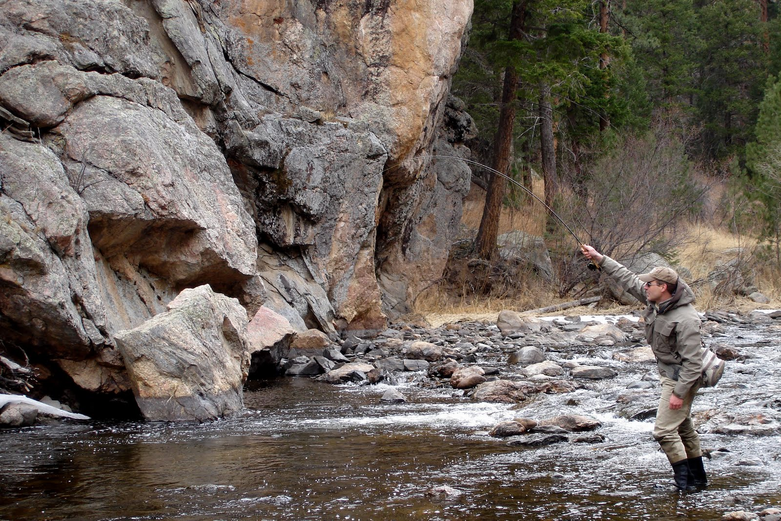 Colorado fly fishing reports big thompson river directory for Waterton canyon fishing report
