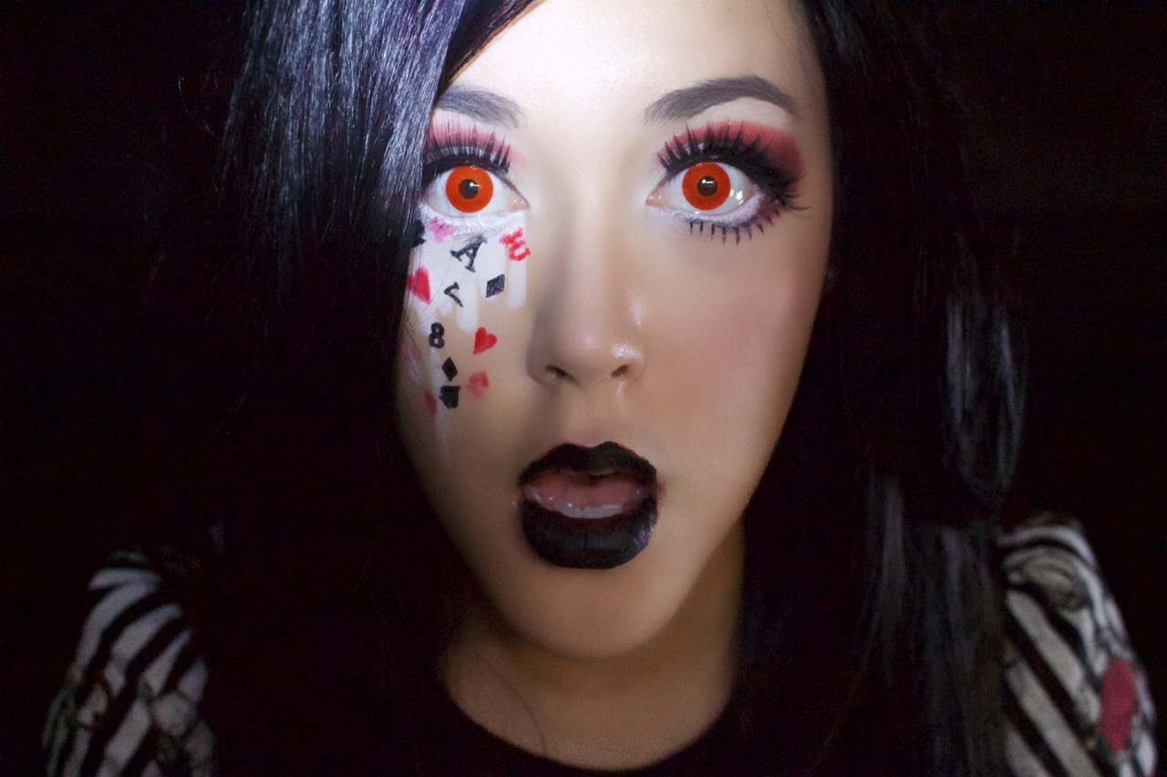 takara dōri: evil alice in wonderland | halloween makeup tutorial