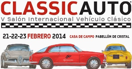 Salón Internacional del Vehículo Clásico, ClassicAuto Madrid 2014
