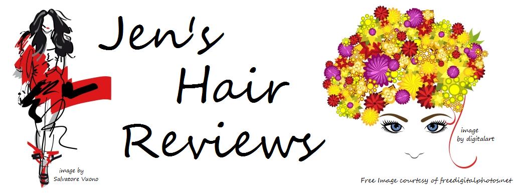 Jen's hair reviews