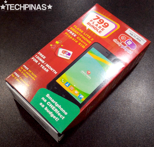Cherry Mobile Flare Lite 2, Cherry Prepaid