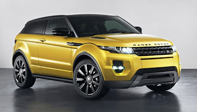 Limited Edition Range Rover Evoque blisters eyeballs
