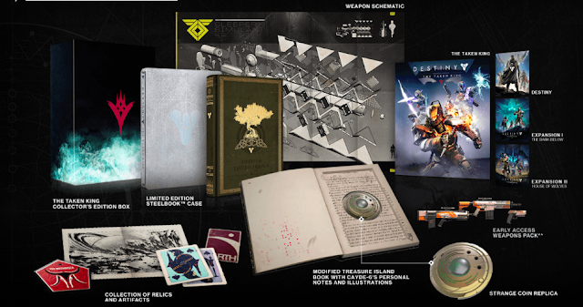 Destiny: The Taken King collector's edition unboxed