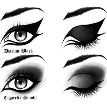 How To Wear Black Eye Make Up The Right Way | All About Beauty And ...