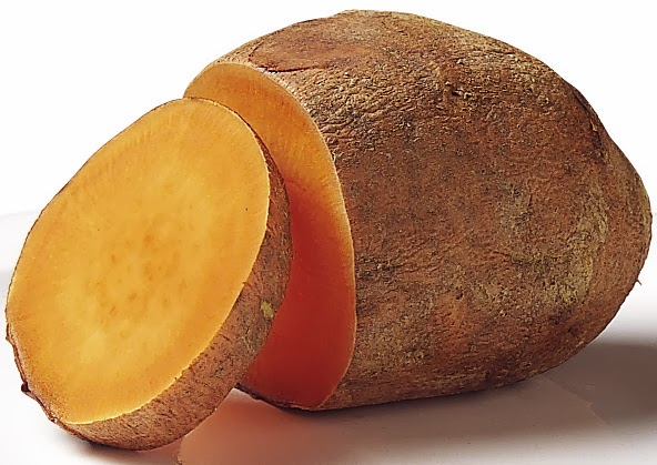 Sweet potatoes and treatment of wrinkles