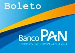 Emissão Banco Pan Boleto