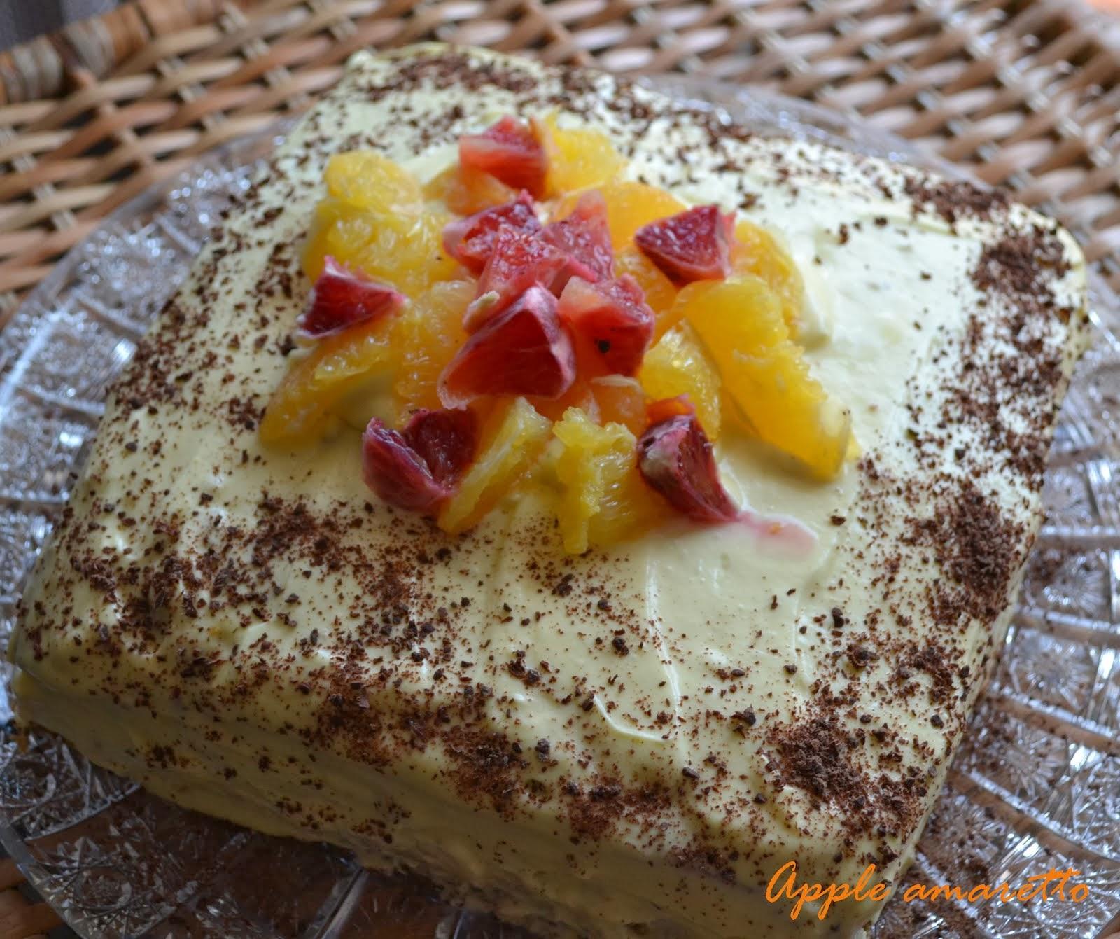 Mákos narancsos torta doTERRA illóolajjal