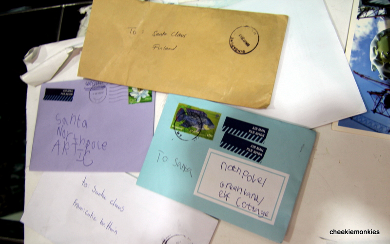 Cheekiemonkies singapore parenting lifestyle blog where do yup these are actual letters addressed to santa claus dropped into the mailboxes out of goodwill singpost consolidates these letters every year and sends spiritdancerdesigns Image collections