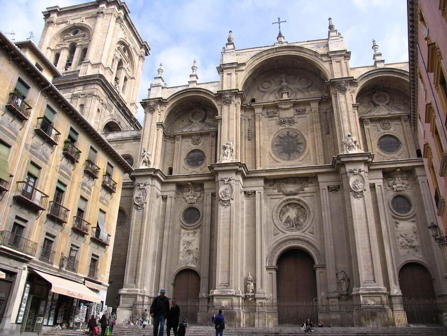 Art en vena arquitectura barroca espanyola for Arquitectura granada
