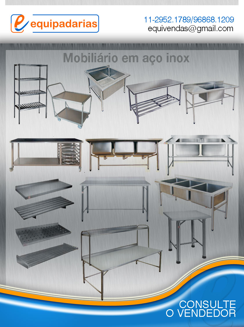 Cozinha Industrial Equipamentos Em A O Inox Adeguado Para Produ O