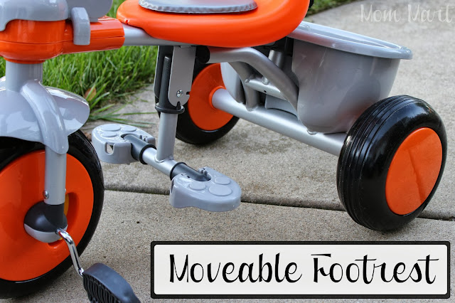Joovy Tricycoo Tricycle Moveable Footrest