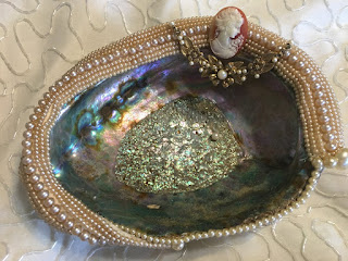 Abalone Shell Decorated by Me