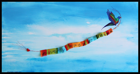 Yummy Prayer Flags