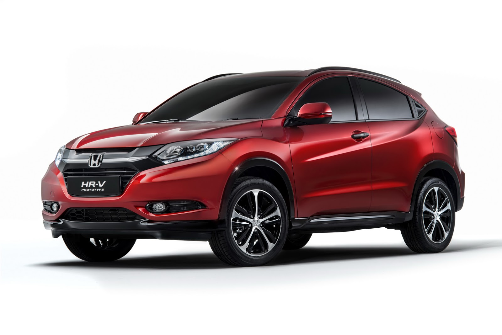 europe 39 s new honda hr v set for paris debut. Black Bedroom Furniture Sets. Home Design Ideas