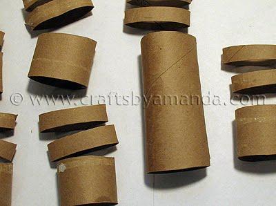 coelhinho da pascoa com rolo de papel  Step2