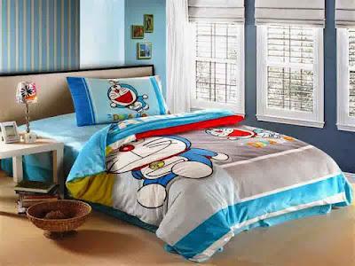 Model Desain Kamar Tidur Anak Doraemon