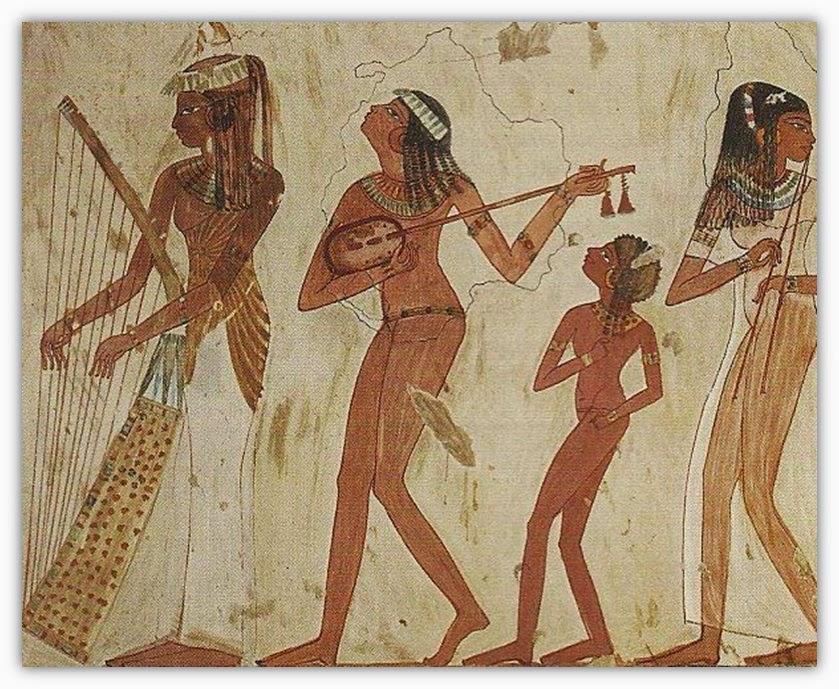 Egitalloyd Travel Egypt: Short Story: Dance in Ancient Egypt