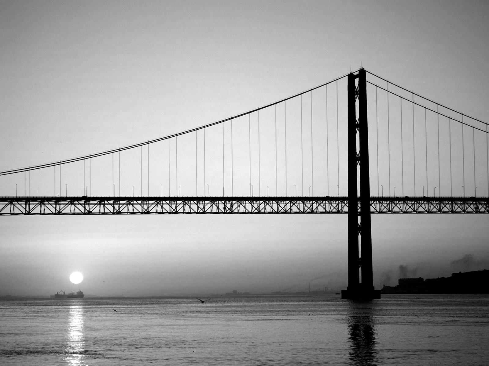 Bridge Black And White Photography