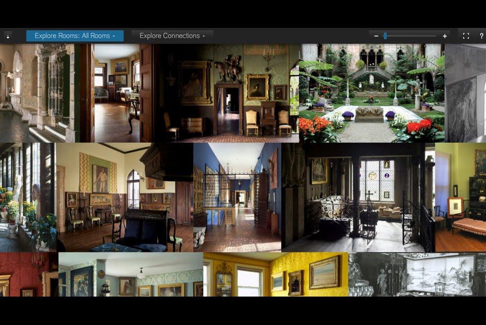 Aria isabella stewart gardner museum launches new website for Gardner website