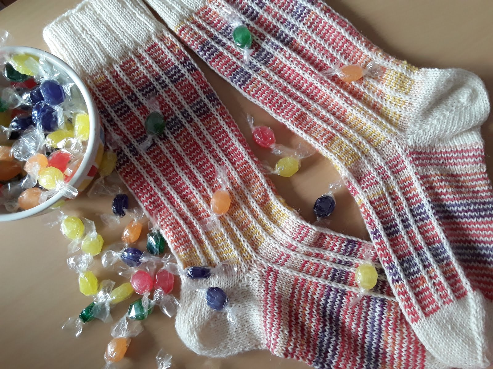 Modelo "Candylicious Socks"