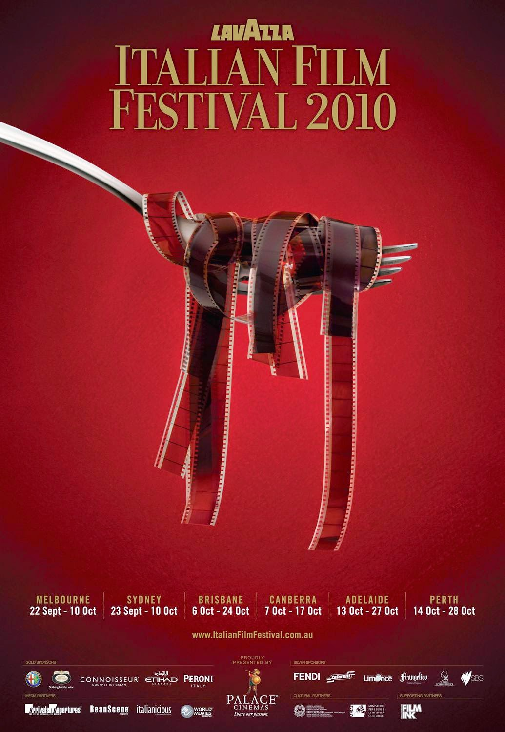 It Is Quite Common To Not Have Much Text In Film Festival Posters On The Cover