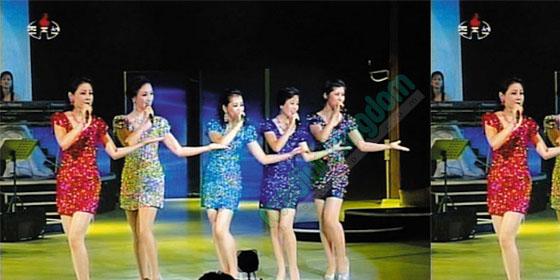 korea utara girlband Video: Aksi Moranbong, Girlband Dari Korea Utara