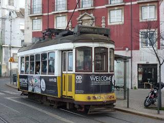 An old Lisbon Tram