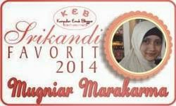 Srikandi Blogger Favorit 2014