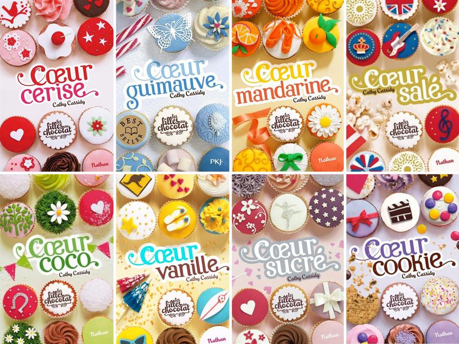 Cathy Cassidy - 11 Ebooks [ Les filles au chocolat + deux autres livres