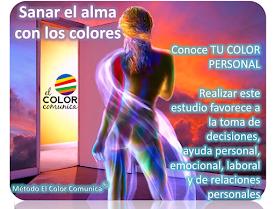 Conoce tu COLOR personal. Sanar con los colores