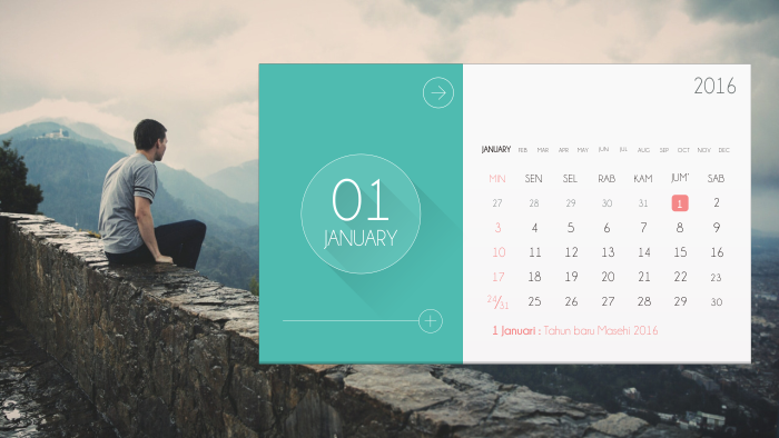Inspirasi Desain Kalender