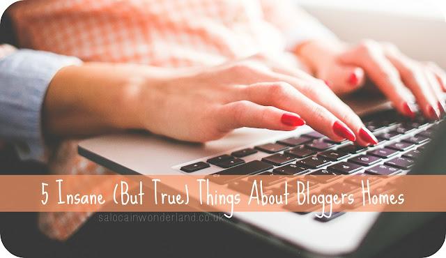 inside a bloggers home