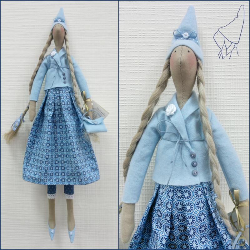 Скандинавские куклы своими руками 33