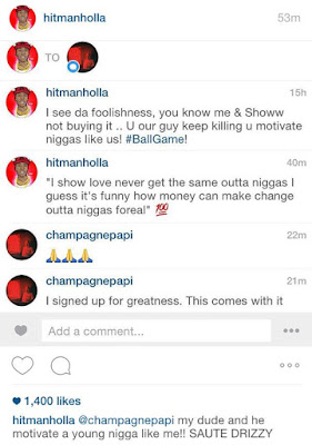 "Drake Responds To Meek Mill ""I Signed Up For Greatness, This Comes With It"""