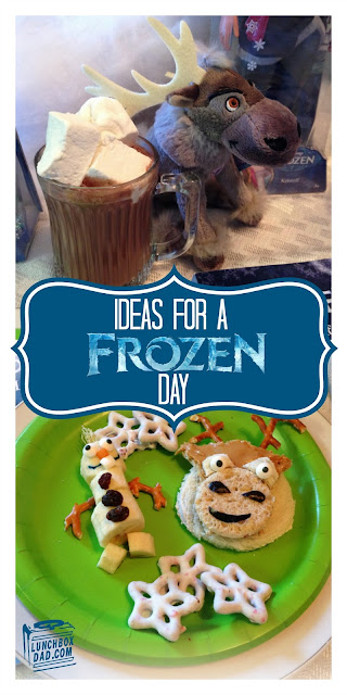 Disney Frozen Sven Sandwiches and Olaf Banana Snowmen #FrozenFun #shop #cbias