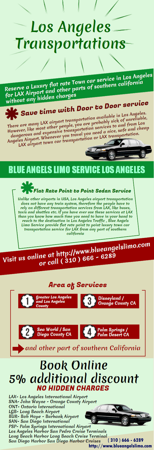 LaX Transportation Los Angeles