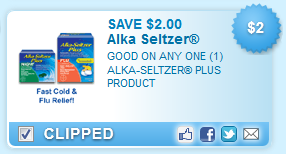 $2.00 off one ALKA-SELTZER PLUS product