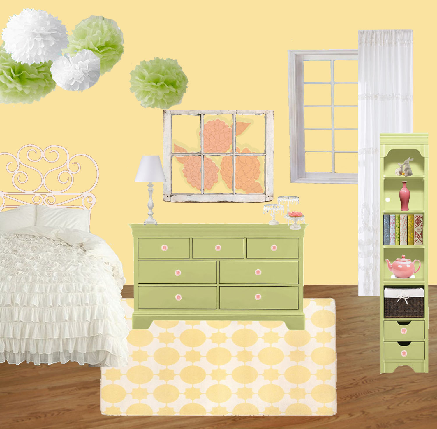 Growing Home: Toddler Girl's Bedroom - Finished!