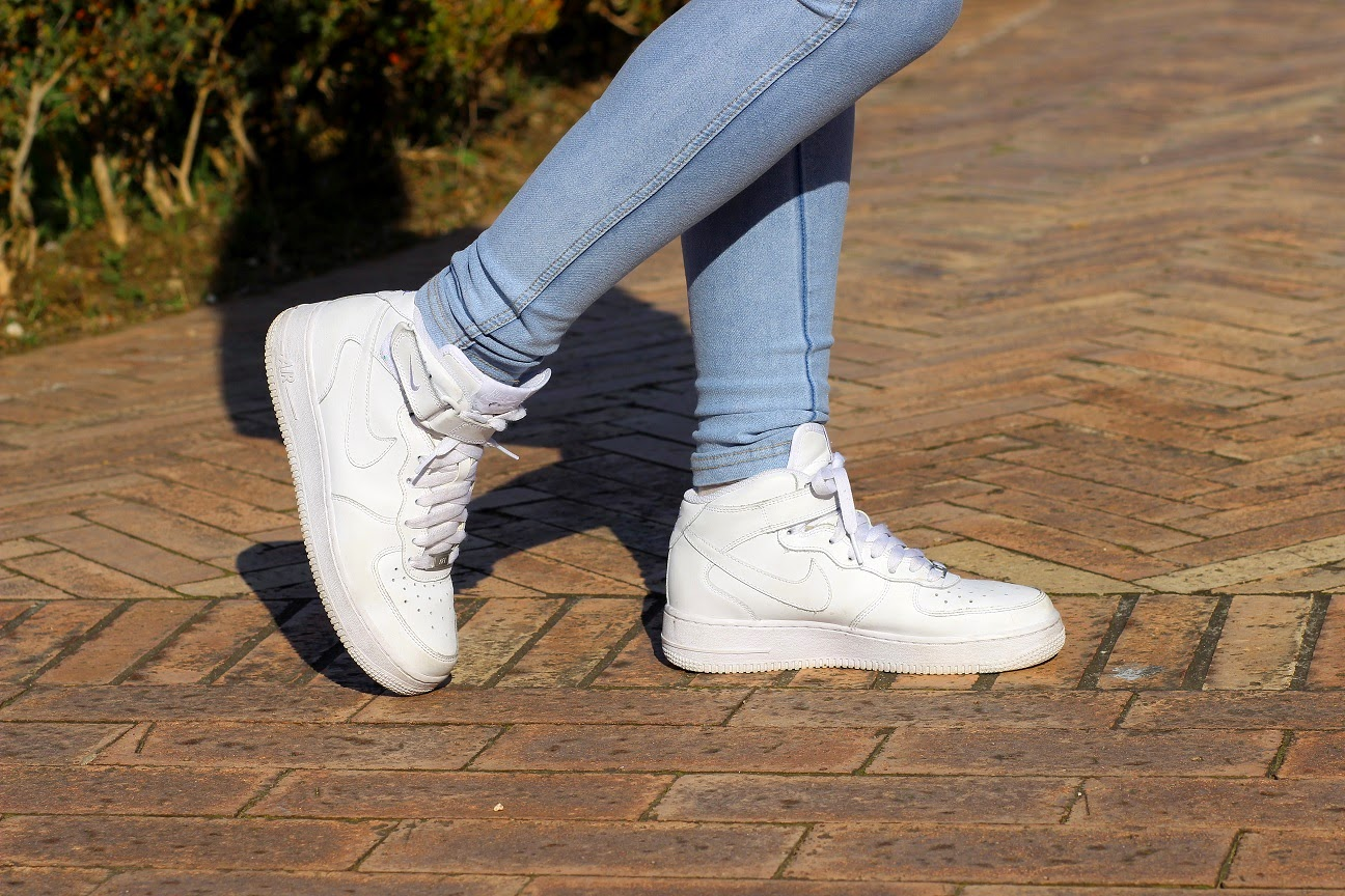 Air Force 1 Bianche Nafems Nike Alte it Ybg67fy