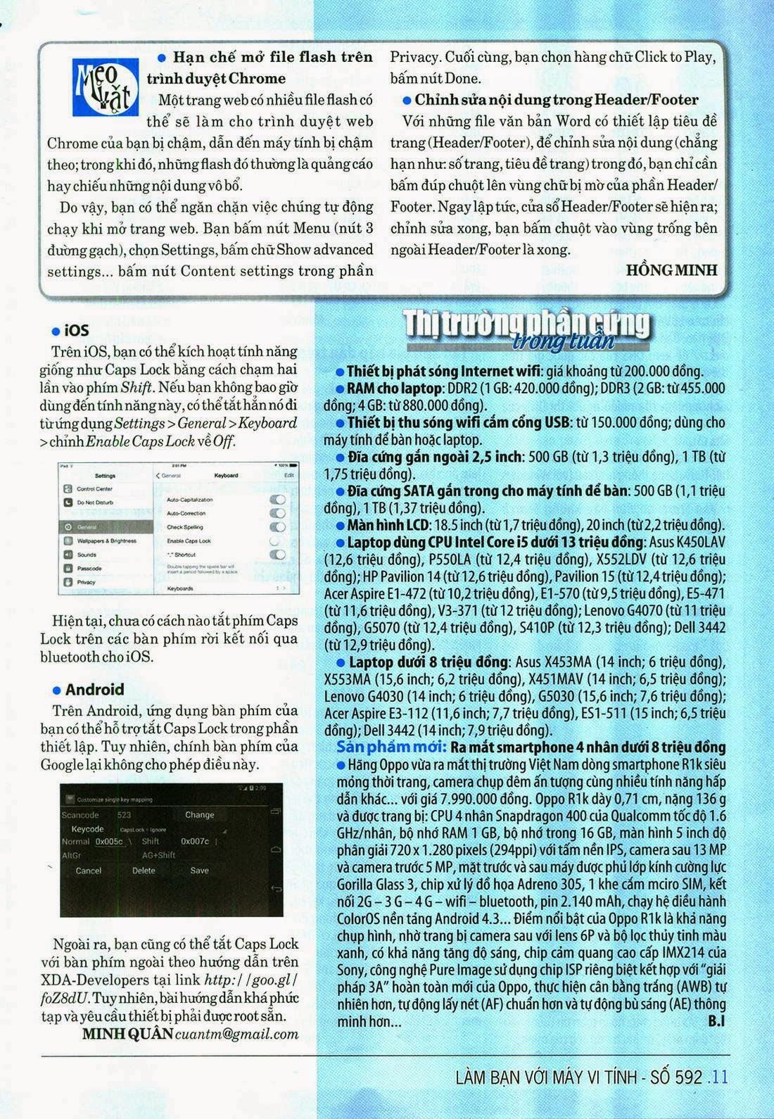Làm Bạn Với Máy Vi Tính – 592 - tapchicntt.com