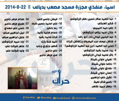 بالصور قتلة سنة المقدادية بقيادة عشيرة آل تميم