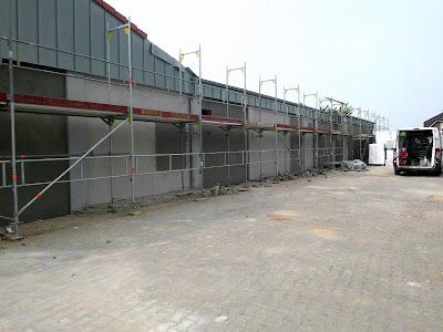 Lidl: Foto Neugestaltung Lidl Filiale St. Peter-Ording Aussenbereich Umbauphase