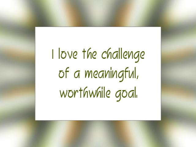 GOALS affirmation