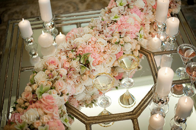 Wedding collections table decoration