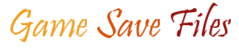 Game Save Files